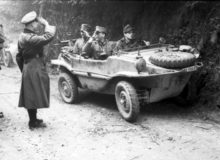 Here's The Nazis' Amphibious Car of WWII: The Schwimmwagen