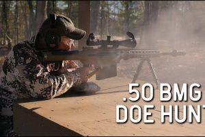 Whitetail Deer Hunt With A .50 BMG...Simply Unbelievable