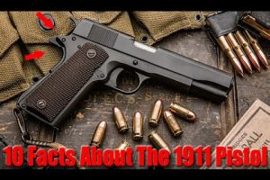 Here Are 10 Things I'll Bet You Didn't Know About The M1911 .45 Cal Pistol