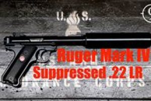 [Video] This Suppressed Ruger Is SO QUIET You'll Have To Turn Up The Volume To Hear It