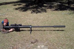 A BIG Rifle - A BIG Bullet - A BIG BANG: The Anzio 20mm Sniper Rifle