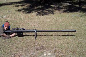 A BIG Rifle - A BIG Bullet - A BIG BANG: The Anzio 20mm Sniper Rifle